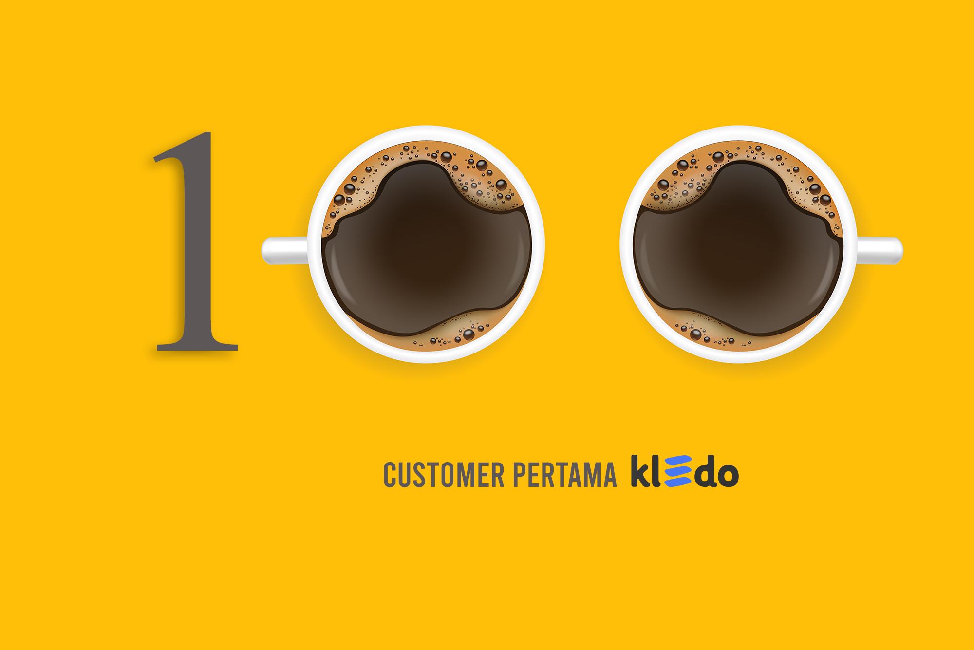 perjalanan 100 customer pertama